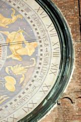tower clock, cremona