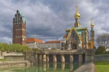 Russisch orthodoxe Kirche  Mathildenhöhe Darmstadt