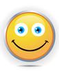 Smiley on white