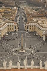 Vista dalla cupola di San Pietro - Roma