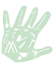 Glove  gardener