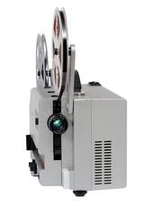 Super 8 projektor frontal