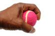 Tennis Ball and Hand