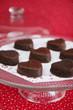 heart chocolate cakes