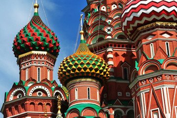 Basiliuskathedrale, Moskau - St Basil's Cathedral, Moscow