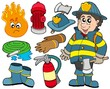 Fire protection collection
