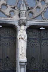 St. Catharinakerk Eingang Detail