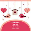 roleta: Valentine's day card with place for your text