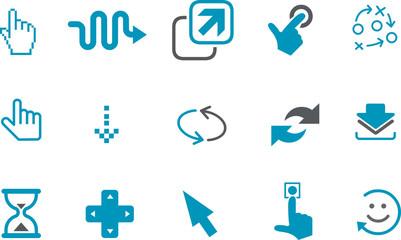Pointers Icon Set