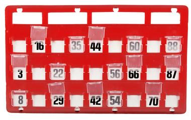 Cartella per Bingo 1 01 10