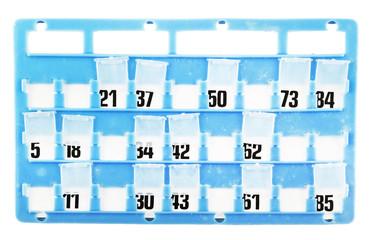 Cartella per Bingo 3 01 10