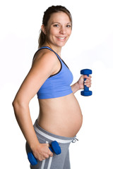 Pregnant Workout Girl