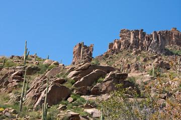 Arizona's Superstition Mountains