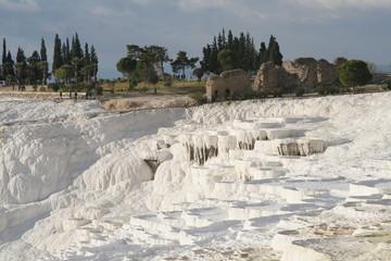Pamukkale, Türkei, Sinterterrassen