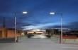 Car park at dusk - 19635418