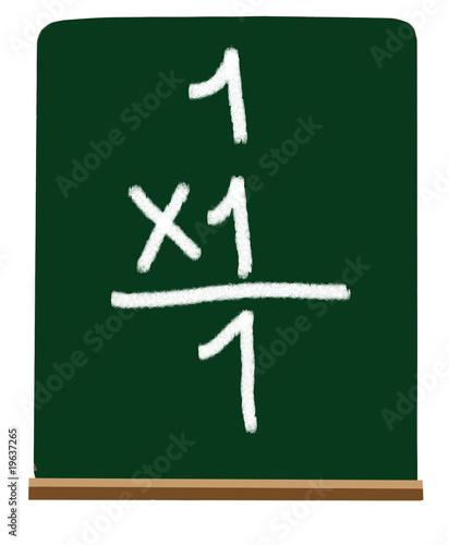 Primary school multiplication
