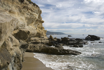 The beaches and coves of California