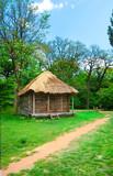cabin of poor peasant poster