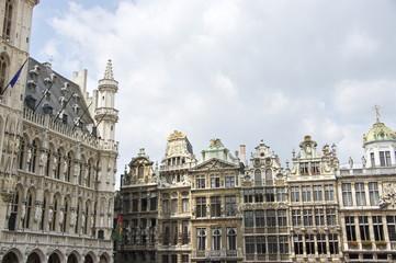 Bruxelles, Grand Place, Palais de pierre blanche