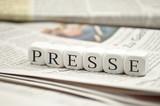 Fototapety Presse mit Zeitungen