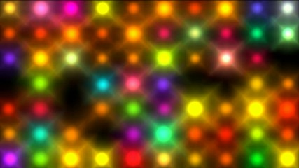 Color square matrix, disco light