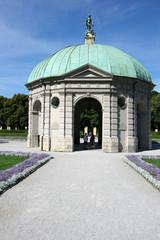 Gazebo in Munich Hofgarten, Germany