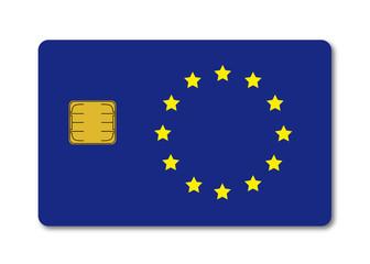 Scheckkarte Europa