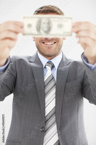 Man with a dollar