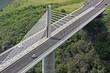 pont à haubans, route express des tamarins, île de la réunion