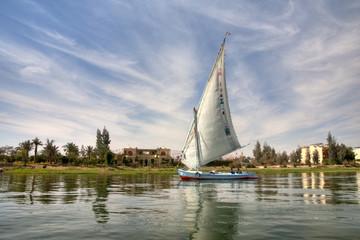 Nilo in barca