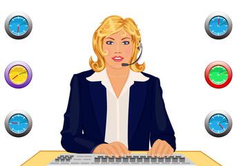 Customer support desk open 24 hours