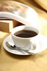 close up shot of a cup of tea