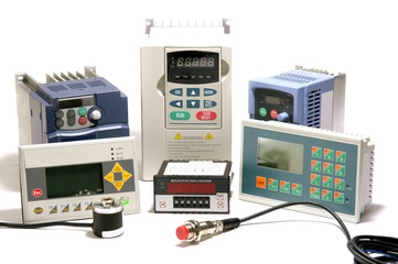 Industrial frequency inverters, encoders and counters
