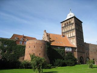 porte d'entrée dans la cité de Lübeck