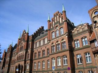 immeubles anciens à Lübeck