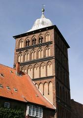 tour de fortification à Lübeck