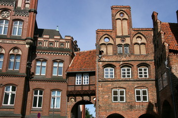 immeubles à Lübeck