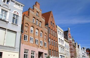 une rue de Lübeck