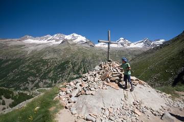 Croce Arolley e gruppo del Gran Paradiso