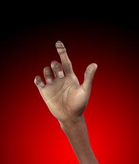 Hand Turn On