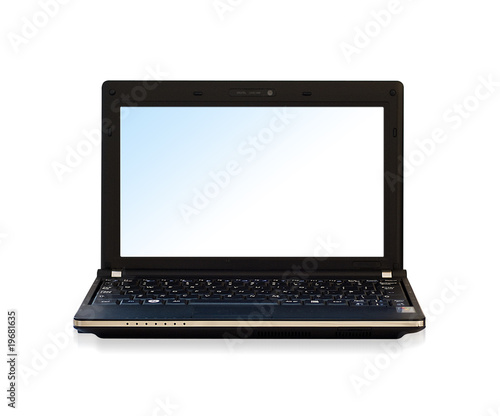 Isolated Netbook