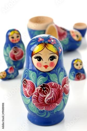 russian Matryoshka nesting dolls - 19688406