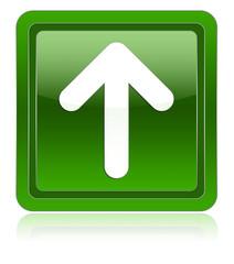 Arrow up green icon