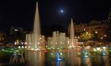 Wasserspiele in Tirana