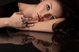 Sapphire and Diamond Jewelry poster