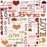 love doodles, text. poster