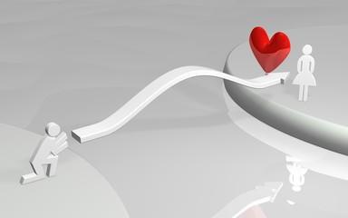 Long-distance love
