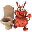 Microbe et wc