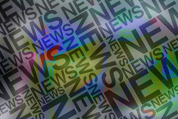 News typographie