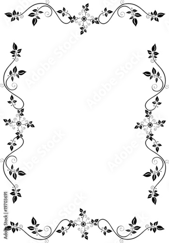 gamesageddon rahmen blumen floral ornamental filigran schn rkel lizenzfreie fotos. Black Bedroom Furniture Sets. Home Design Ideas